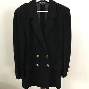 ST JOHN double breasted jacket size 6